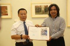 吕云所中国画遗作捐赠仪式在中国美术馆举行