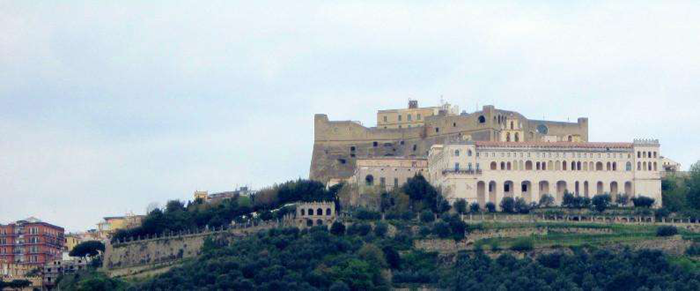 意大利那不勒斯圣埃莫堡