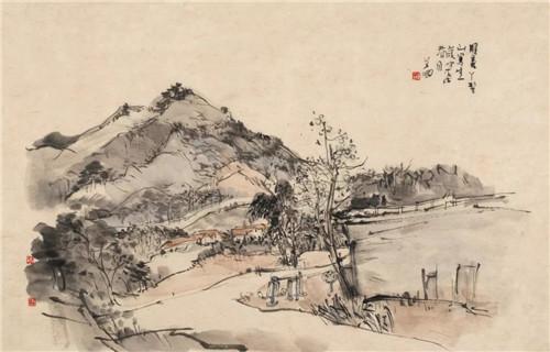 写意漾泉 || 艾国中国山水画写生教学