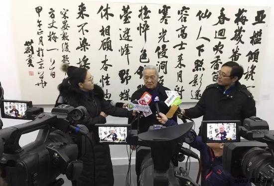 中国艺术研究院研究生院博士生导师 张荣庆先生接受媒体采访
